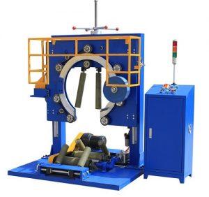 Wire winding packaging machine
